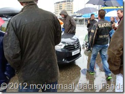 Dacia Fandag 2012 Onthulling Lodgy 12