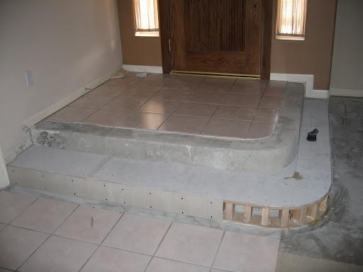 Foyer tile floor designs for Foyer tile patterns
