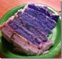 cake purple
