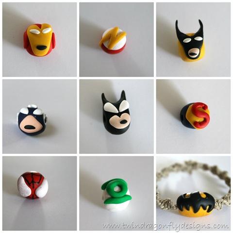 super hero necklace