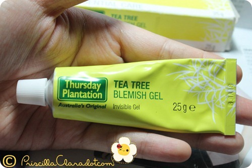 Priscilla review Thursday Plantation tea tree oil 2