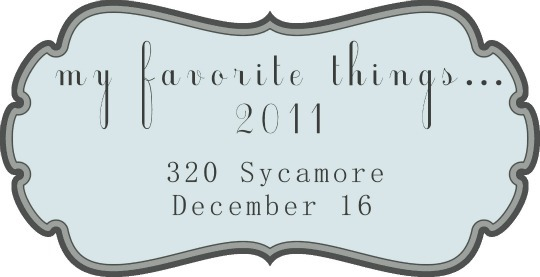 favorite things 2011 button