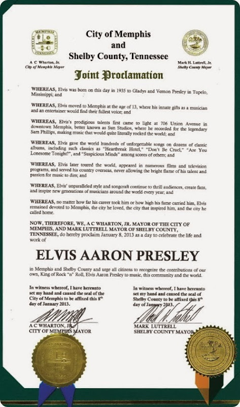 elivis presley day