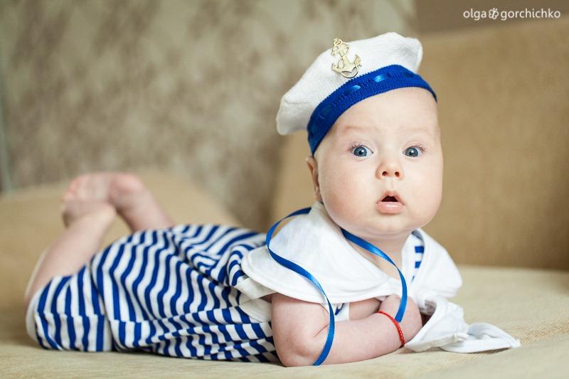 Детская фотосессия. Тимошка, 3 месяца. Детские фотографии