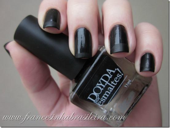 Francesinha Gato preto   fosco