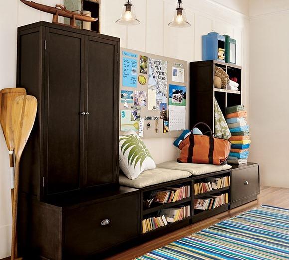 armario de almacén en el hogar