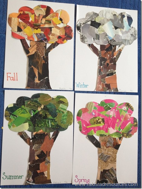 Forest collage trees - Raki's Rad Resources