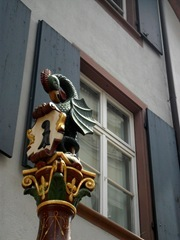 The Basilisk - state symbol of Basel.
