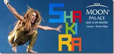 Shakira en cancun 2011 moon palace resort concierto