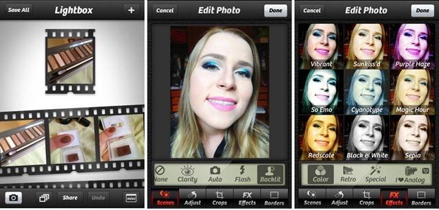 melhores aplicativos foto camera+