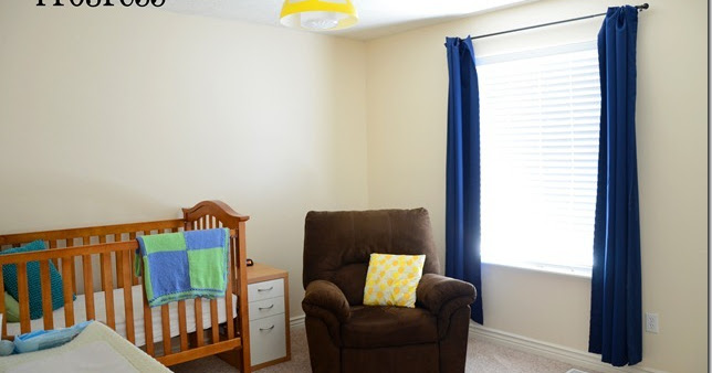 Babys Room Is At The Front Of The House