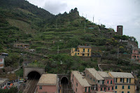 The hills above Vernazza