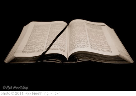 'Open Bible' photo (c) 2011, Ryk Neethling - license: http://creativecommons.org/licenses/by/2.0/