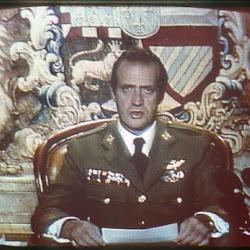Locución televisiva de D. Juan Carlos I la noche del 23 F