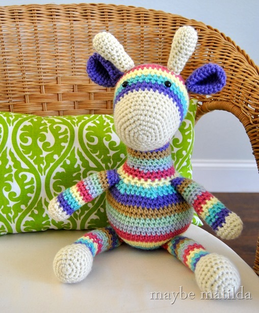 Crochet Giraffe by maybe matilda