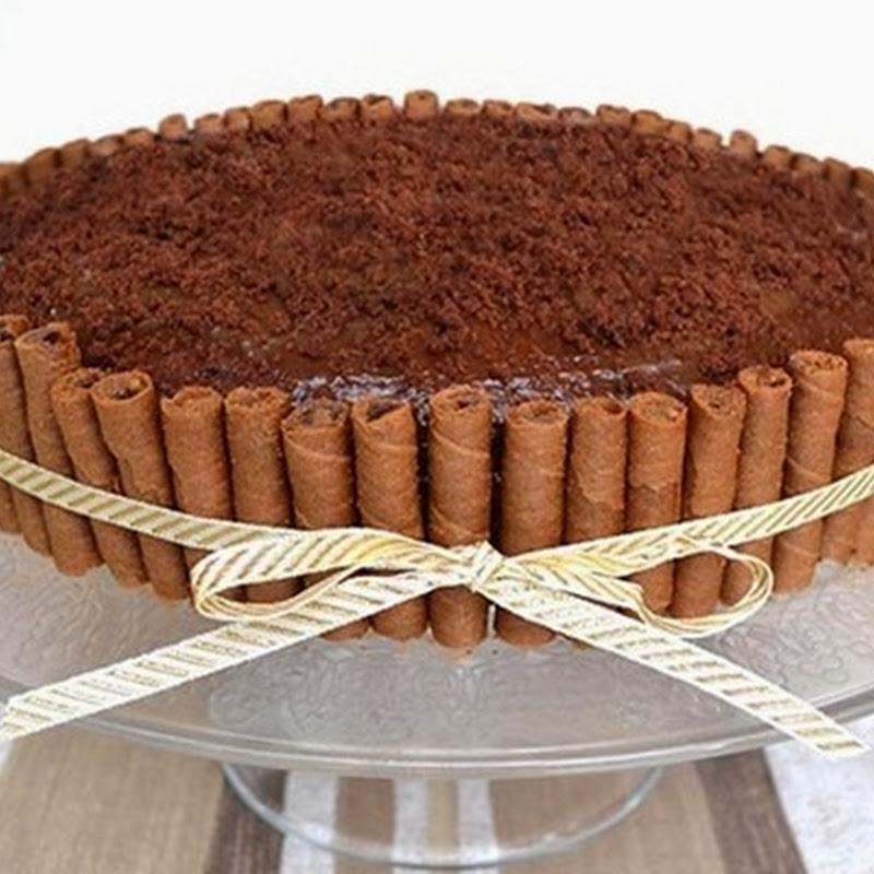 Τούρτα σοκολάτας με καφέ