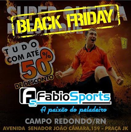 Queima de Estoque - FABIO SPORTS - CAMPO REDONDO - WESPORTES - WCINCO - black friday