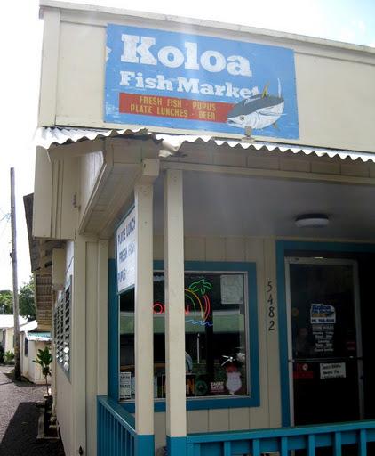 Koloa Fish Market in Koloa, Kauai