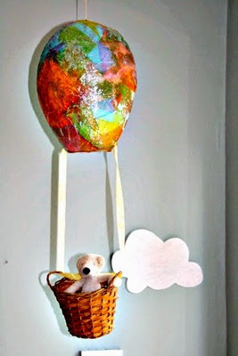 Hot Air Balloon from The Imagination Tree