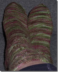 Rambutan Sock Completed