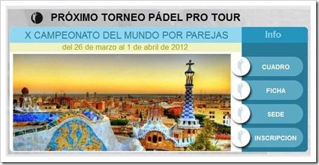 mundial por parejas barcelona ppt