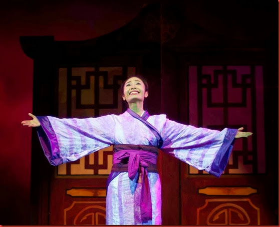 Gian Gloria as Hua Mulan singing This Is Me. A Song highlight of the Musical