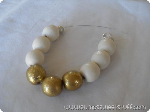 Sumo's Sweet Stuff - Wood Bead Necklace