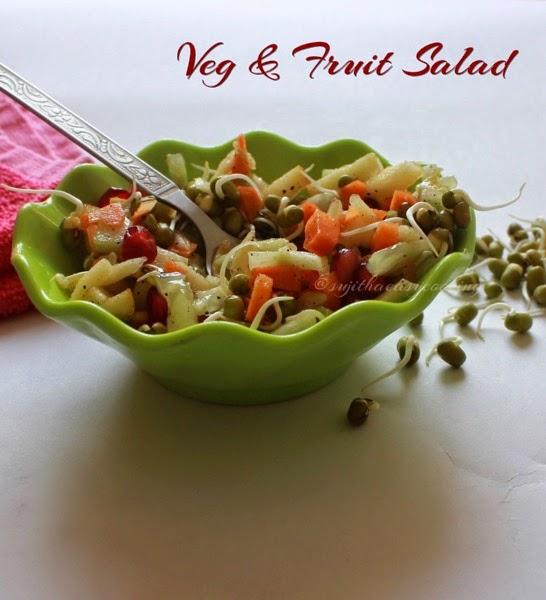Veg  Fruit Salad