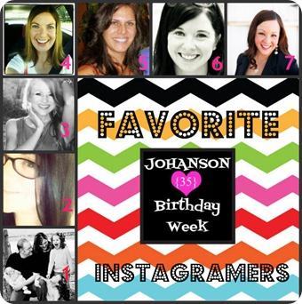 Johanson Journey Favorite Instagramers