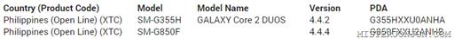 Samsung Galaxy Alpha SM-G850F Philippines