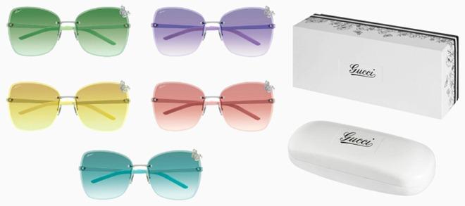 gucci oculos de sol coloridos jardim flora