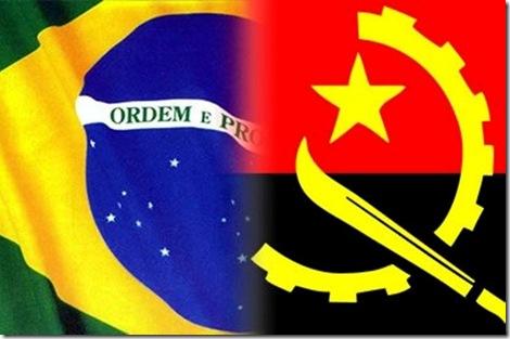 Bandeira Brasu Angola