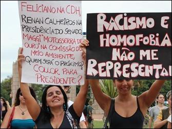 manifestação contra Marco feliciano 01