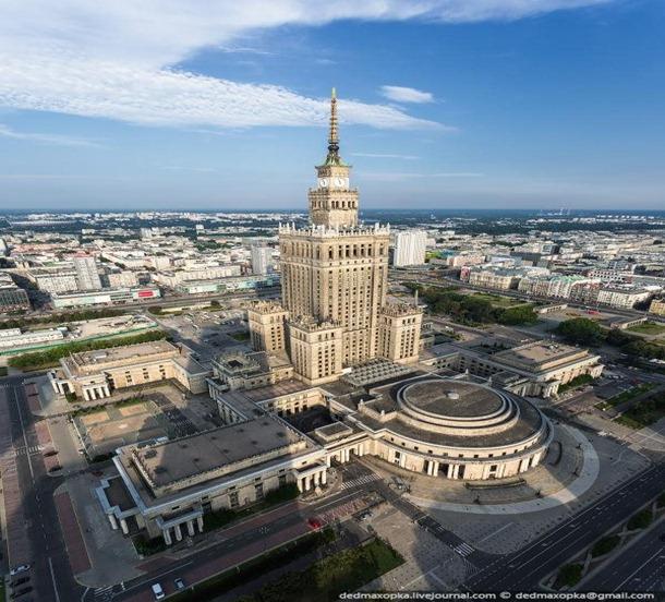 O edifício mais alto da Polônia
