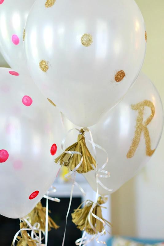 balloons polka dot