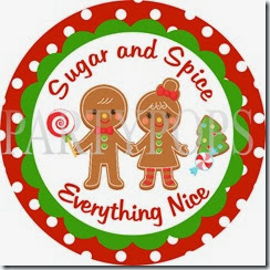Gingerbread Sugar and Spice Sign