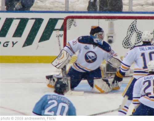 'Ryan Miller watches a shot go wide.' photo (c) 2008, andrewwinn - license: http://creativecommons.org/licenses/by-nd/2.0/