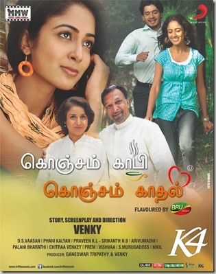 Konjam Coffee Konjam Kadhal Tamil Movie Wallpapers