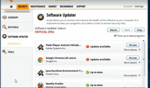 Software uploader