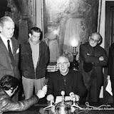1971: Le bureau D'Anai Artea donne une conférence de presse pendant l'enlévement du consul allemand Beilh