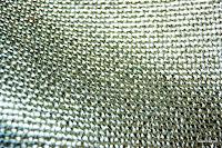 Tkanina meblowa z metalicznym efektem. Srebrna.