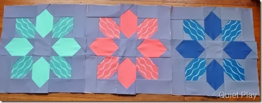 Winter Star blocks