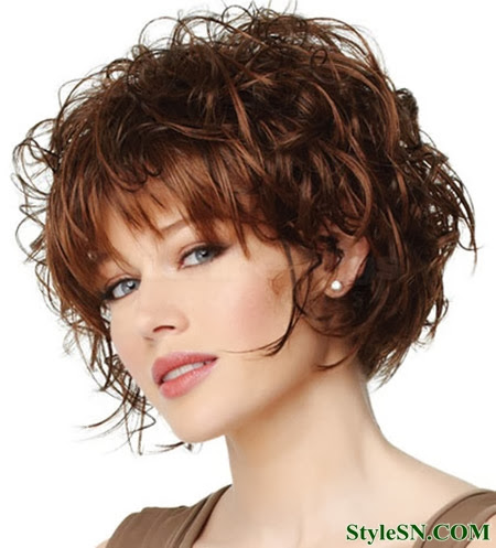 Best Curly Short Haircuts hairstyles for women