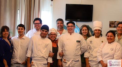 Participantes, jueces y patrocinantes del 1er concurso de cocina de Carabobo Fotgrafo: Luis E. Blanco