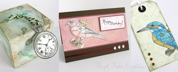 2014Jan22 steampunk stamps inky doodles card samples 3