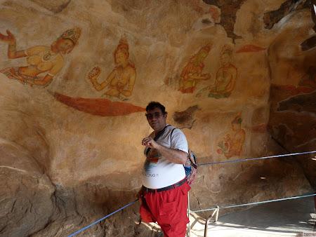 Imagini Sri Lanka: picturi murale Sigiriya