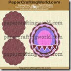 card scalloped oval 429 ppr cf-200