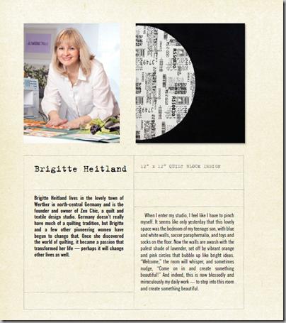 WWC quilters Brigitte Heitland