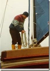 m at the mast