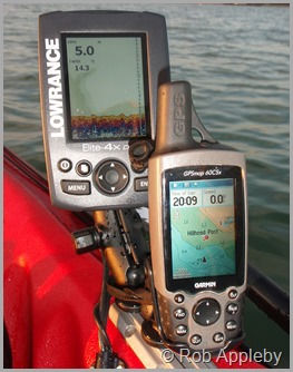 saltwater kayak fisherman lowrance elite 7 hdi installation